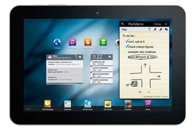Планшет Samsung Galaxy Tab 8.9 P7300 32Gb черный