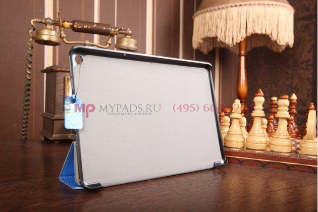 """Фирменный умный чехол самый тонкий в мире для Acer Iconia Tab A3-A10/A3-A11 """"Il Sottile голубой пластиковый Италия"""