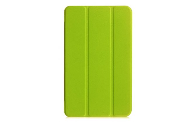 """Фирменный умный чехол-книжка самый тонкий в мире для Acer Iconia One 8 B1-850-K0GL (NT.LC4EE.002) 8.0 """"Il Sottile"""" зелёный пластиковый"""