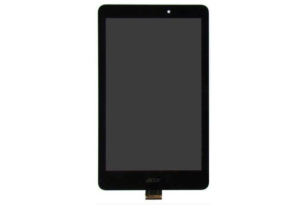 Фирменный LCD-ЖК-сенсорный дисплей-экран-стекло с тачскрином на планшет Acer Iconia Tab 8 A1-840/A1-841 FHD черный и инструменты для вскрытия + гарантия