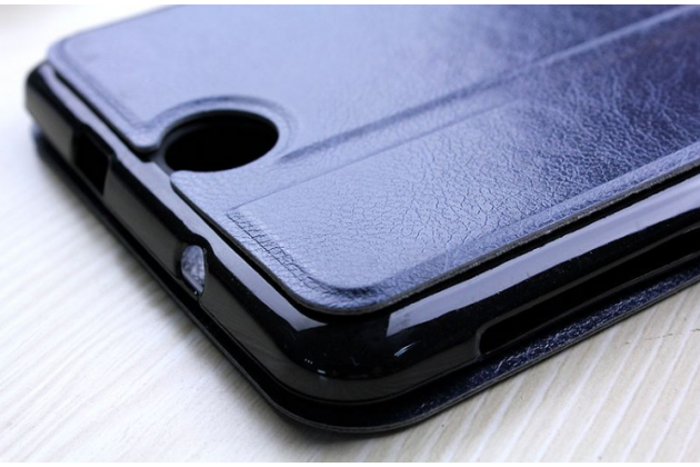 """Фирменный умный тонкий чехол для Acer Iconia Talk 7 B1-723 3G 7.0"""" """"Mercury"""" синий"""