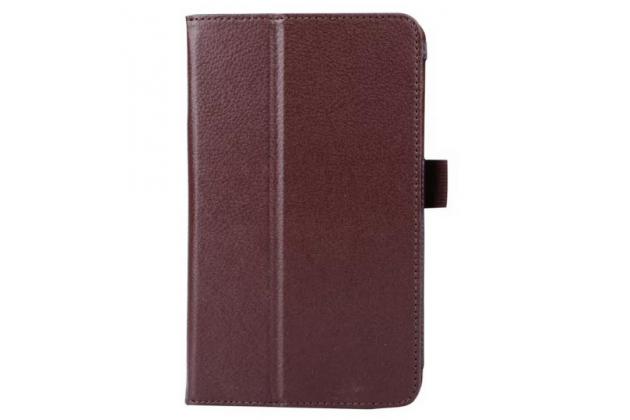 Чехол для Acer Iconia Tab B1-750/B1-751 коричневый кожаный