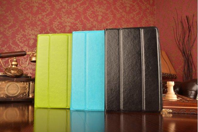 Чехол с вырезом под камеру для планшета Acer Iconia Tab 8W W1-810-11ML с дизайном Smart Cover ультратонкий и лёгкий. цвет в ассортименте
