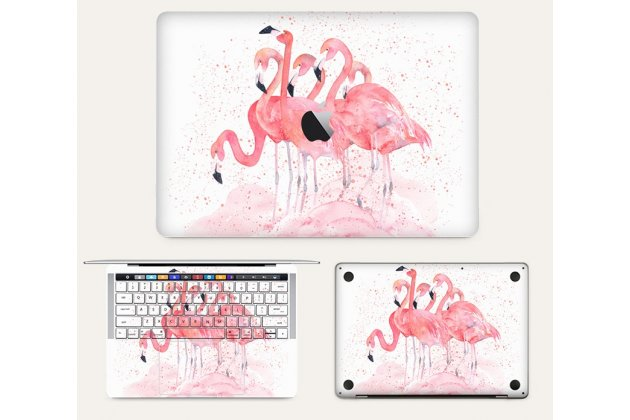 Фирменная оригинальная защитная пленка-наклейка с 3d рисунком на твёрдой основе, которая не увеличивает ноутбук в размерах для Apple MacBook Air 13 Early 2015 ( MJVE2 / MJVG2) 13.3 / Apple MacBook Air 13 Early 2014( MD760 / MD761) 13.3