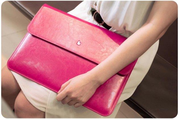Фирменный оригинальный чехол-клатч-сумка с визитницей для Apple MacBook Air 13 Early 2015 ( MJVE2 / MJVG2) 13.3 / Apple MacBook Air 13 Early 2014( MD760 / MD761) 13.3 из качественной импортной кожи