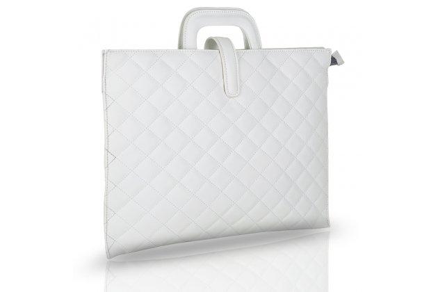 Фирменный оригинальный чехол-клатч-сумка для Apple MacBook 12 Early 2015 / 2016 / Mid 2017 ( A1534 / A1527) из качественной импортной кожи