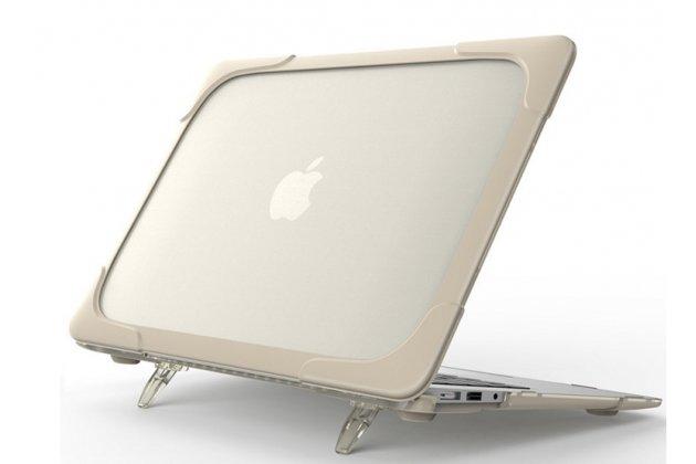 Противоударный усиленный ударопрочный фирменный чехол-бампер-футляр-кейс для Apple MacBook 12 Early 2015 / 2016 / Mid 2017 ( A1534 / A1527). Цвет в ассортименте.