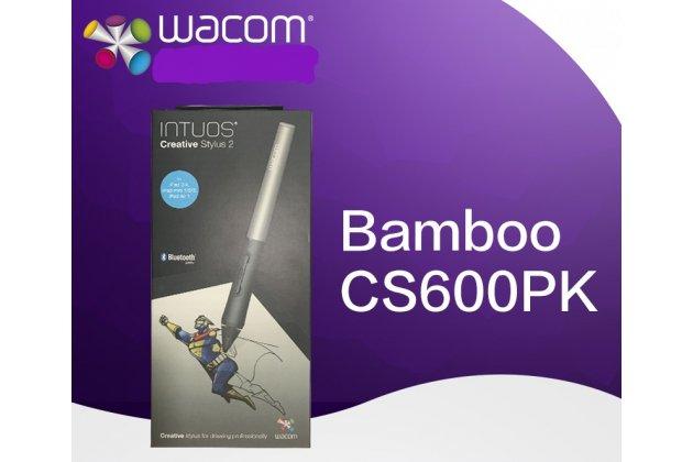 Активный цифровой емкостной стилус-перо-ручка Wacom CS600PK с тонким наконечником для ipad1 / ipad2 /ipad3/ iPad 4 ipad Air1/ Air 2 / iPad mini 1/ iPad mini 2/ iPad mini 3 с повышенной чувствительностью беспроводной многофункциональный