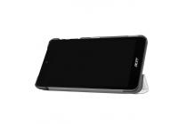 Фирменный умный чехол самый тонкий в мире для Acer Iconia One 7 B1-780 iL Sottile белый пластиковый Италия