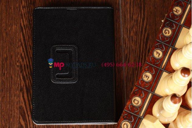 Чехол для Acer Iconia Tab A110/A110 черный кожаный
