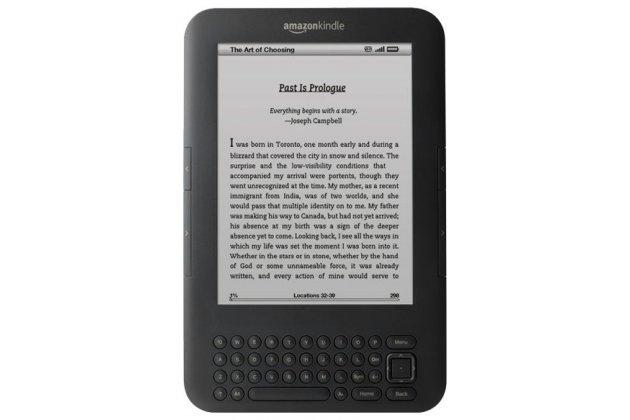 Электронная книга Amazon Kindle 3 Wi-Fi